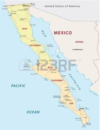 Baja california norte map clipart png royalty free download 67 Baja California Stock Illustrations, Cliparts And Royalty Free ... png royalty free download