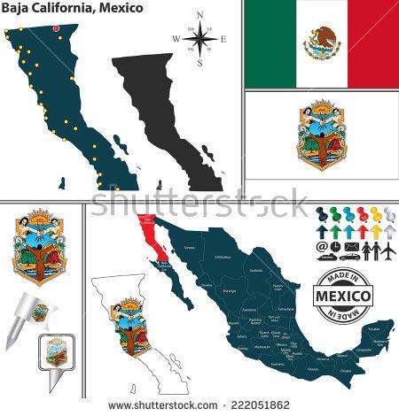 Baja california norte map clipart image free Baja california norte map clipart - ClipartNinja image free