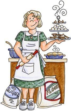 Baking Goodies | Art - Seniors | Clip art, Food clipart, Baking tools vector black and white