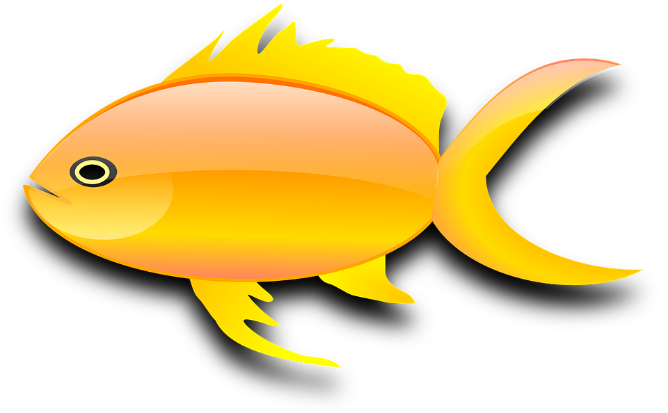 Baked fish clipart svg library stock Gold Fish Clipart gambar ikan - Free Clipart on Dumielauxepices.net svg library stock