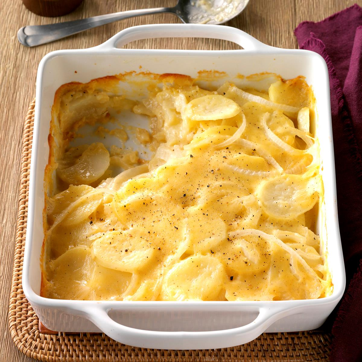 Baked ham scalloped potatoes clipart graphic transparent download Never-Fail Scalloped Potatoes graphic transparent download