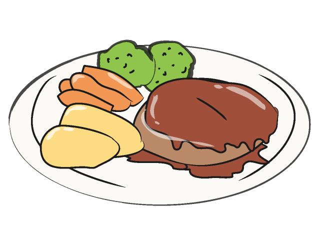 Clipart steak dinner vector freeuse download Free Beef Dinner Cliparts, Download Free Clip Art, Free Clip Art on ... vector freeuse download