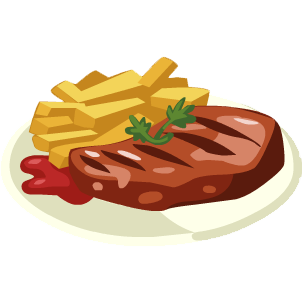 Clipart steak dinner vector free Free Beef Dinner Cliparts, Download Free Clip Art, Free Clip Art on ... vector free