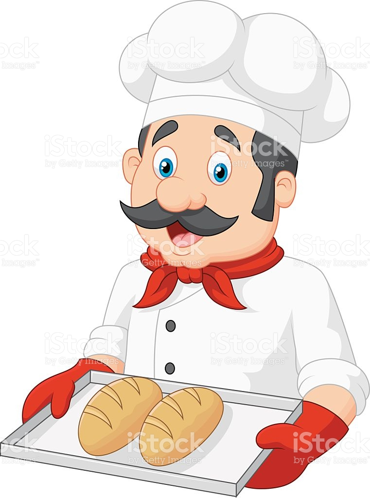 Baker sitting down clipart picture library Baker Clipart & Free Clip Art Images #12302 - Clipartimage.com picture library