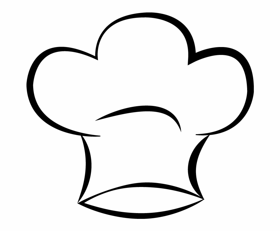 Clipart chef hat free image black and white Chef\'s Hat Clip Art Free PNG Images & Clipart Download #296884 ... image black and white