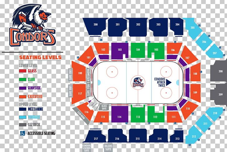 Bakersfield condors clipart image library stock Rabobank Arena PNG, Clipart, Aircraft Seat Map, Area, Arena ... image library stock