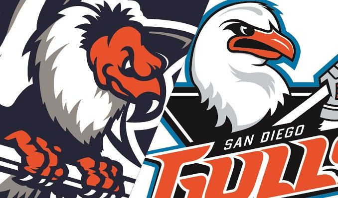 Bakersfield condors clipart banner library library Bakersfield Condors vs. San Diego Gulls ($5 FRENZY – KNIT CAPS ... banner library library