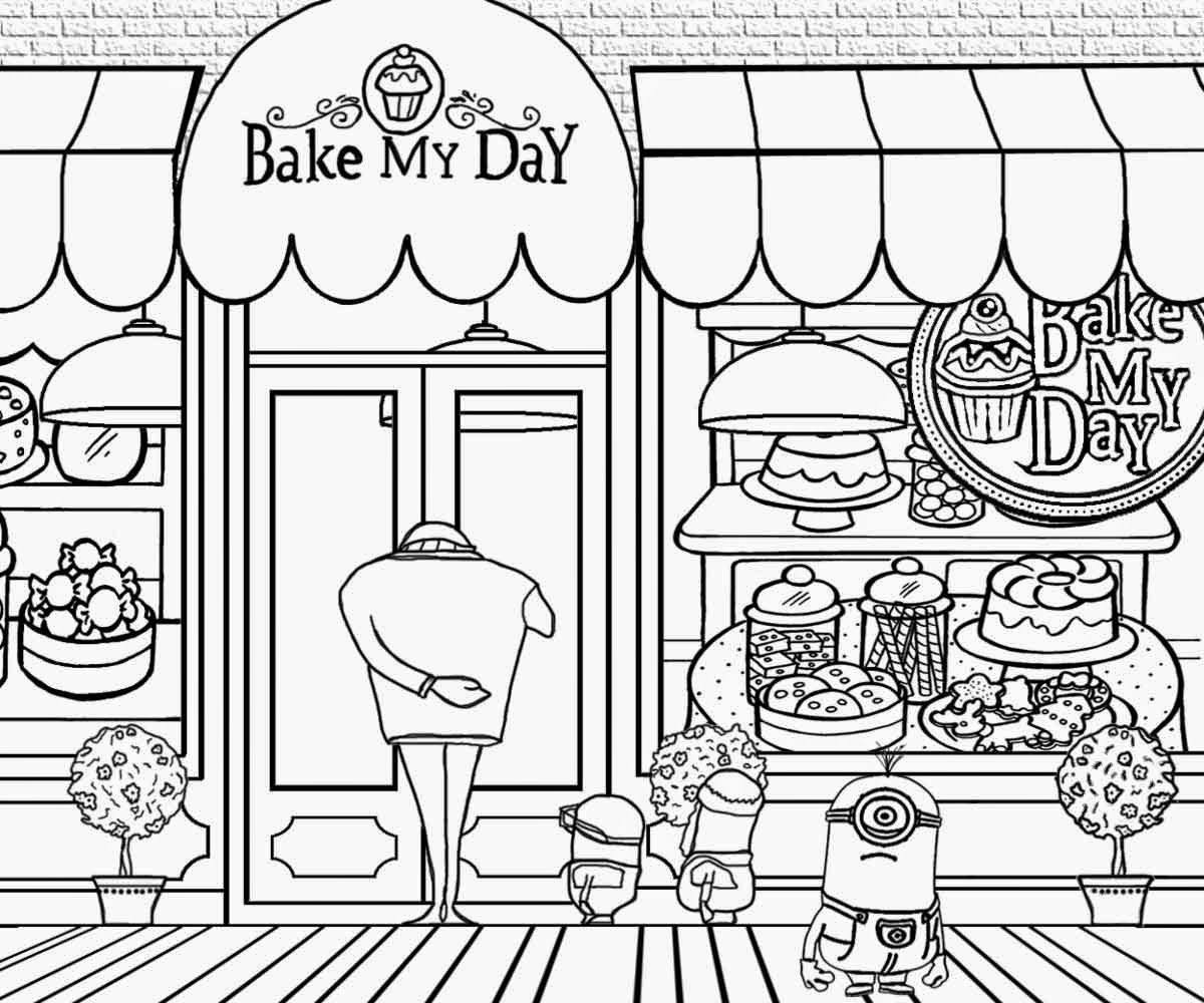 Bakery black and white clipart image library Bakery shop clipart black and white 6 » Clipart Portal image library