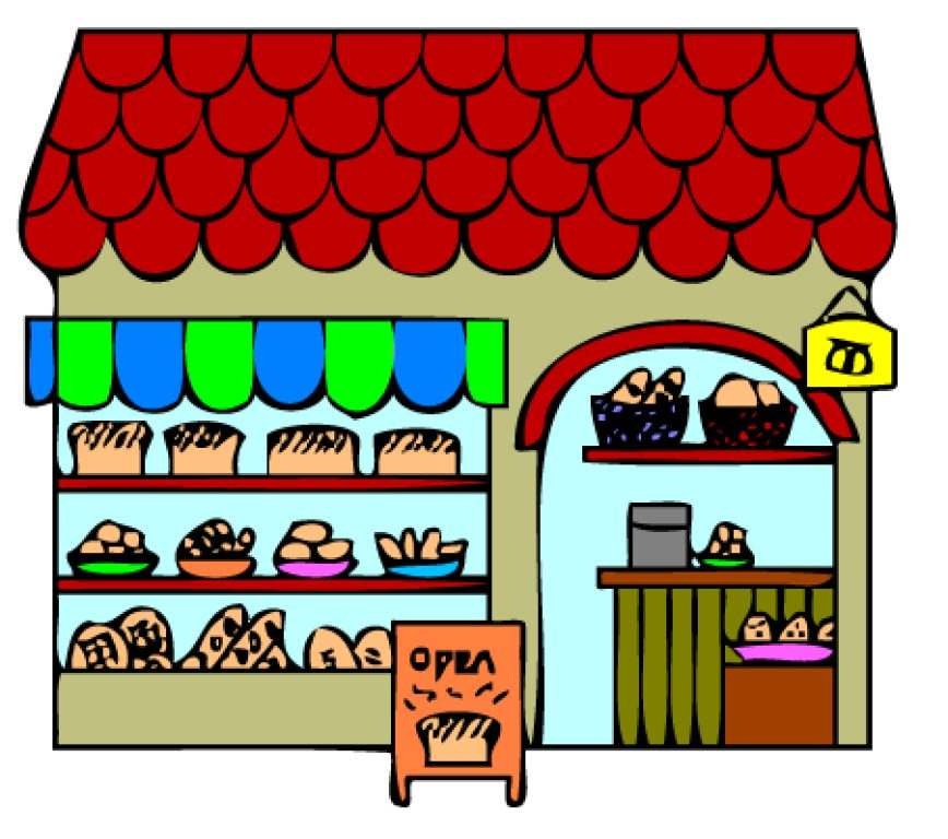 Bakery shop display clipart black and white clipart transparent download Collection of Bakery clipart | Free download best Bakery clipart on ... clipart transparent download
