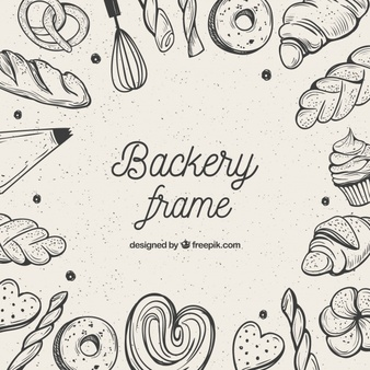 Bakery shop display clipart black and white clip stock Bakery Vectors, Photos and PSD files | Free Download clip stock