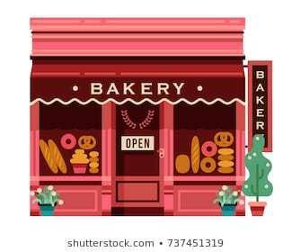 Bakery storefront clipart vector library library Bakery storefront clipart 3 » Clipart Portal vector library library