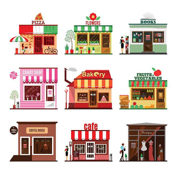 Bakery storefront clipart graphic black and white library Bakery storefront clipart 5 » Clipart Portal graphic black and white library
