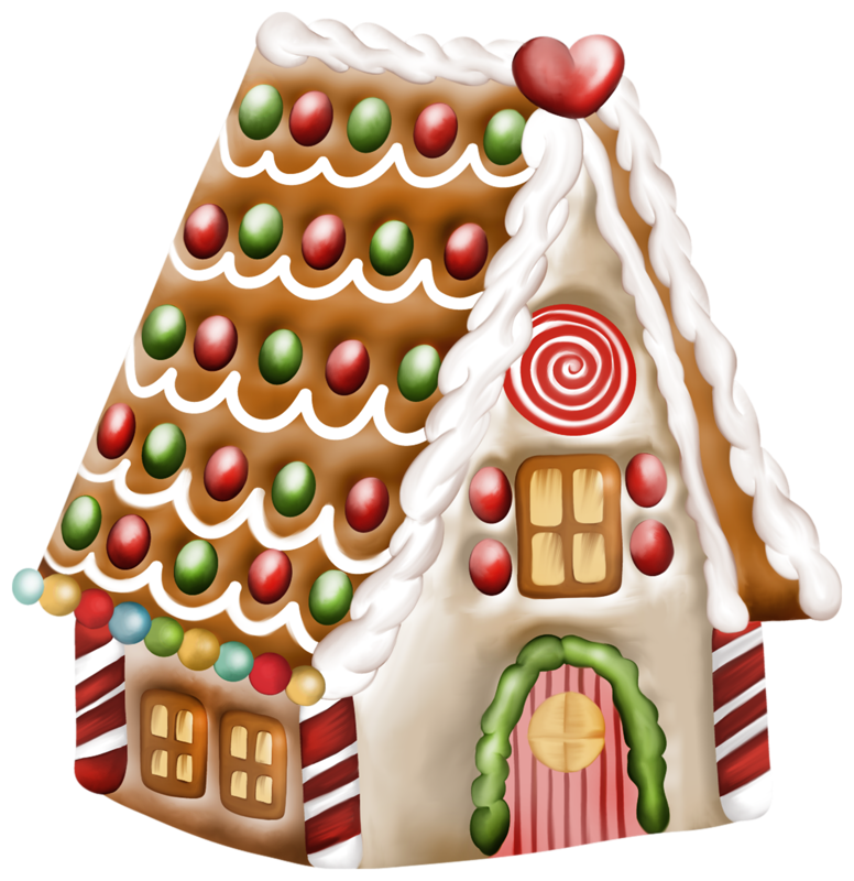 Hansel and gretel house clipart vector library stock Transparent Gingerbread House PNG Clipart | Gallery Yopriceville ... vector library stock