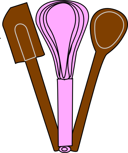 Baking items clipart graphic free stock Baking Utensils Clip Art at Clker.com - vector clip art online ... graphic free stock
