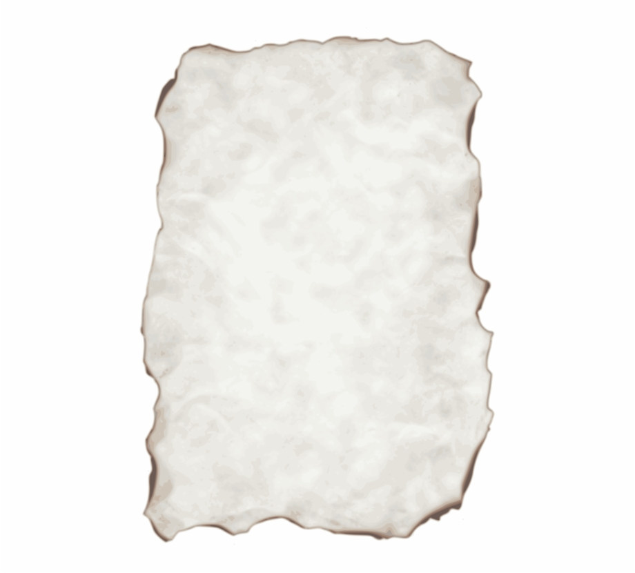 Baking parchment paper outline clipart graphic free download Paper Computer Icons Page Parchment - Old Burnt Paper Transparent ... graphic free download