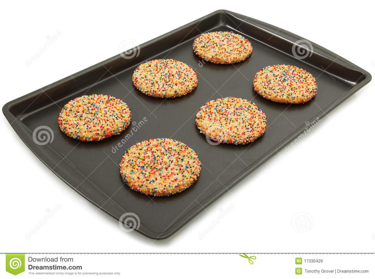 Cookies on clip art. Baking sheet food clipart