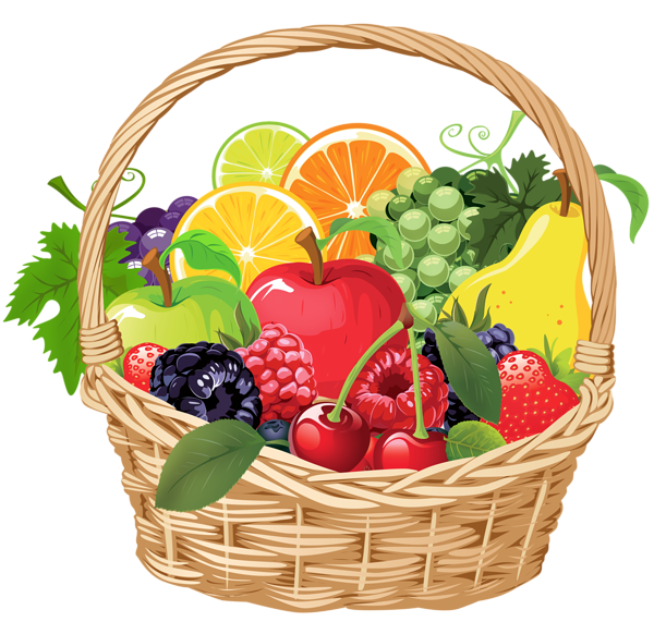 Balance health apple clipart vector banner free Fruit Basket PNG Vector Clipart | Еда, продукты, фрукты, овощи ... banner free