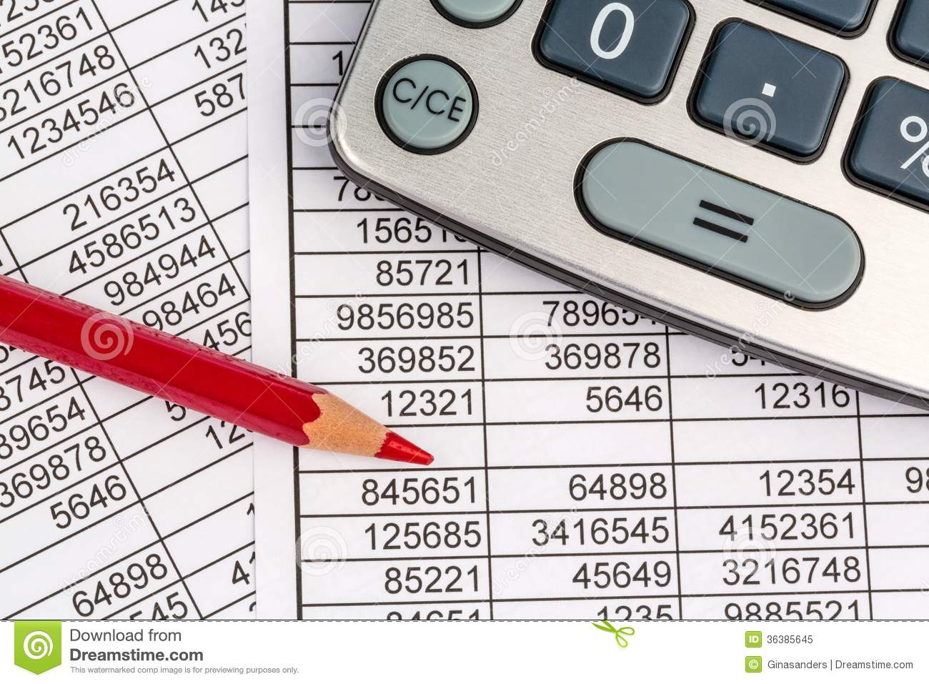 Balance sheet clipart clip transparent stock Calculators And Statistk Royalty Free Stock Photo - Image: 36385645 clip transparent stock
