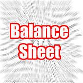 Stock illustration of accounting. Balance sheet clipart