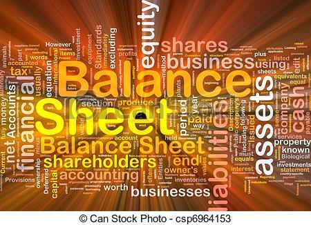 Balance sheet clipart. Illustrations and stock art