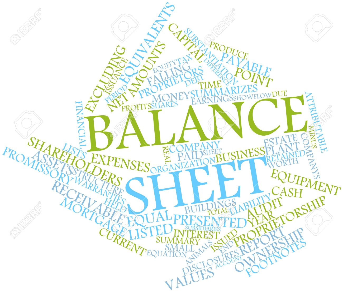 Balance sheet clipart vector transparent library Abstract Word Cloud For Balance Sheet With Related Tags And Terms ... vector transparent library