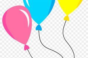 Balao aniversario clipart picture library Clipart balões de aniversário 2 » Clipart Portal picture library