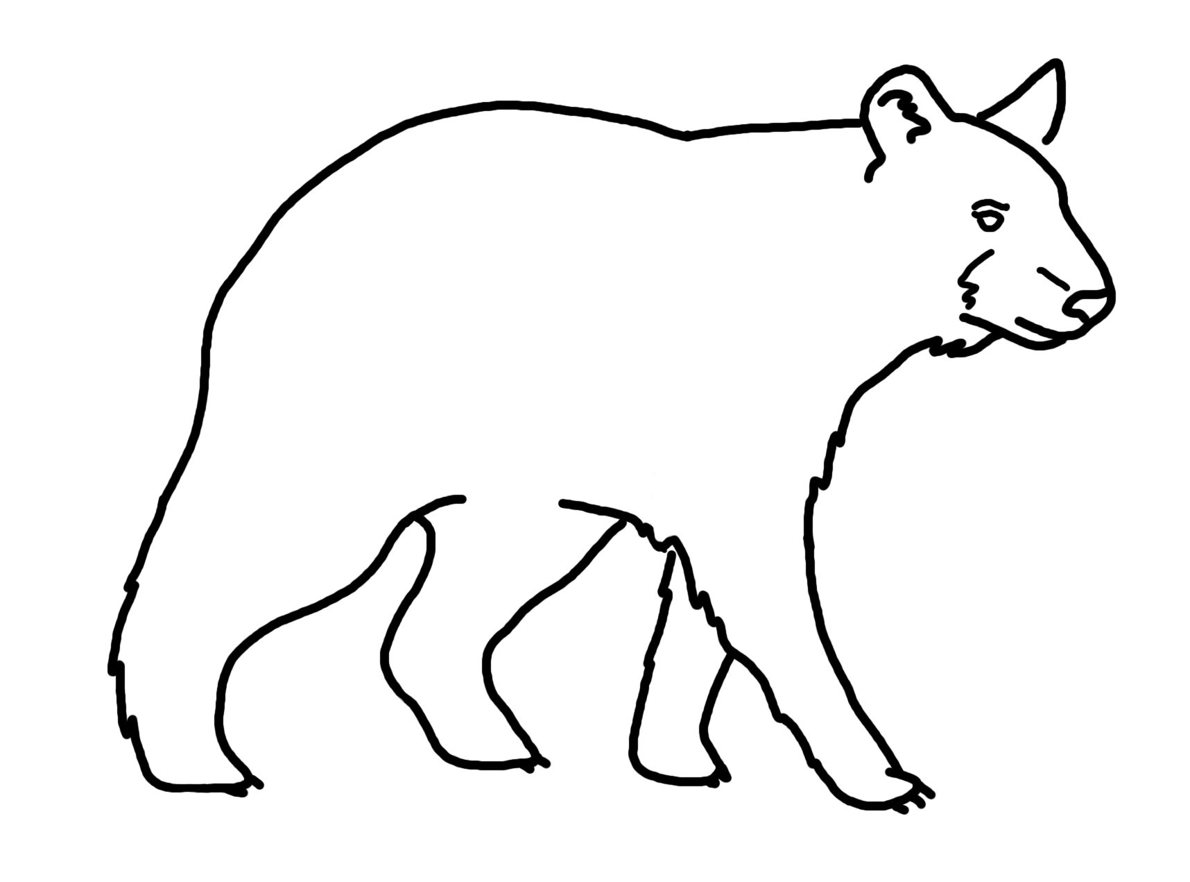 Balck bear drawing clipart clip Free Bear Drawing, Download Free Clip Art, Free Clip Art on Clipart ... clip
