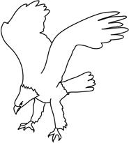 Bald black & white clipart banner freeuse download Free Bald Eagle Clip Art Black And White, Download Free Clip Art ... banner freeuse download