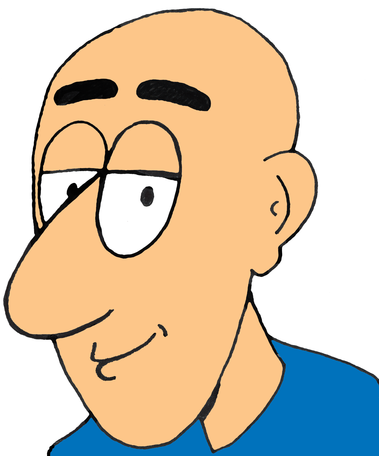 Bald dad clipart picture free Bald dad clipart - Clip Art Library picture free