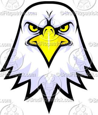 Bald eagle clipart logo png - ClipartFest svg black and white