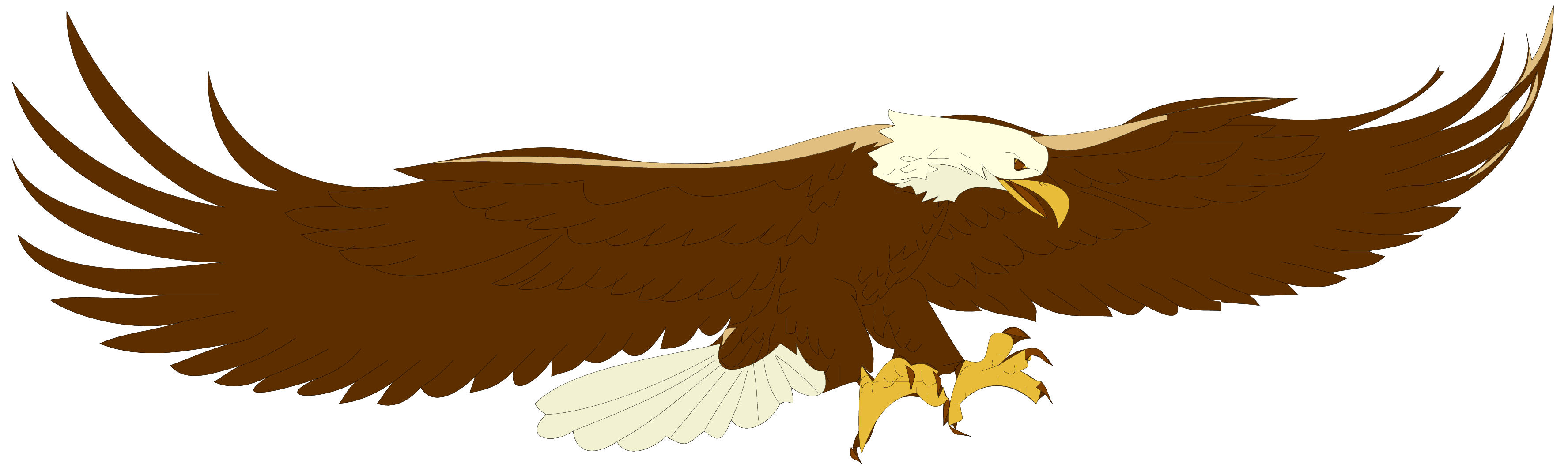 Bald eagle clipart logo png picture library download Eagle Clipart - Clipart Kid picture library download