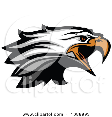 bald eagle clip art #60 | 62 Bald Eagle Clipart | Clipart Fans vector black and white library