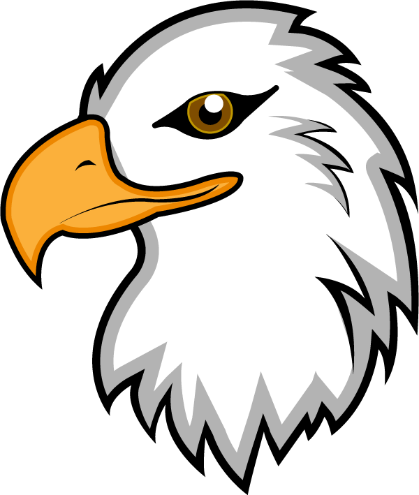 Bald eagle clipart logo png - ClipartFest graphic black and white download