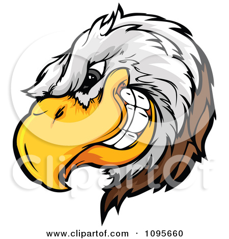 Bald eagle clipart logo png picture library download Clipart Flying Bald Eagle With Extended Talons - Royalty Free ... picture library download