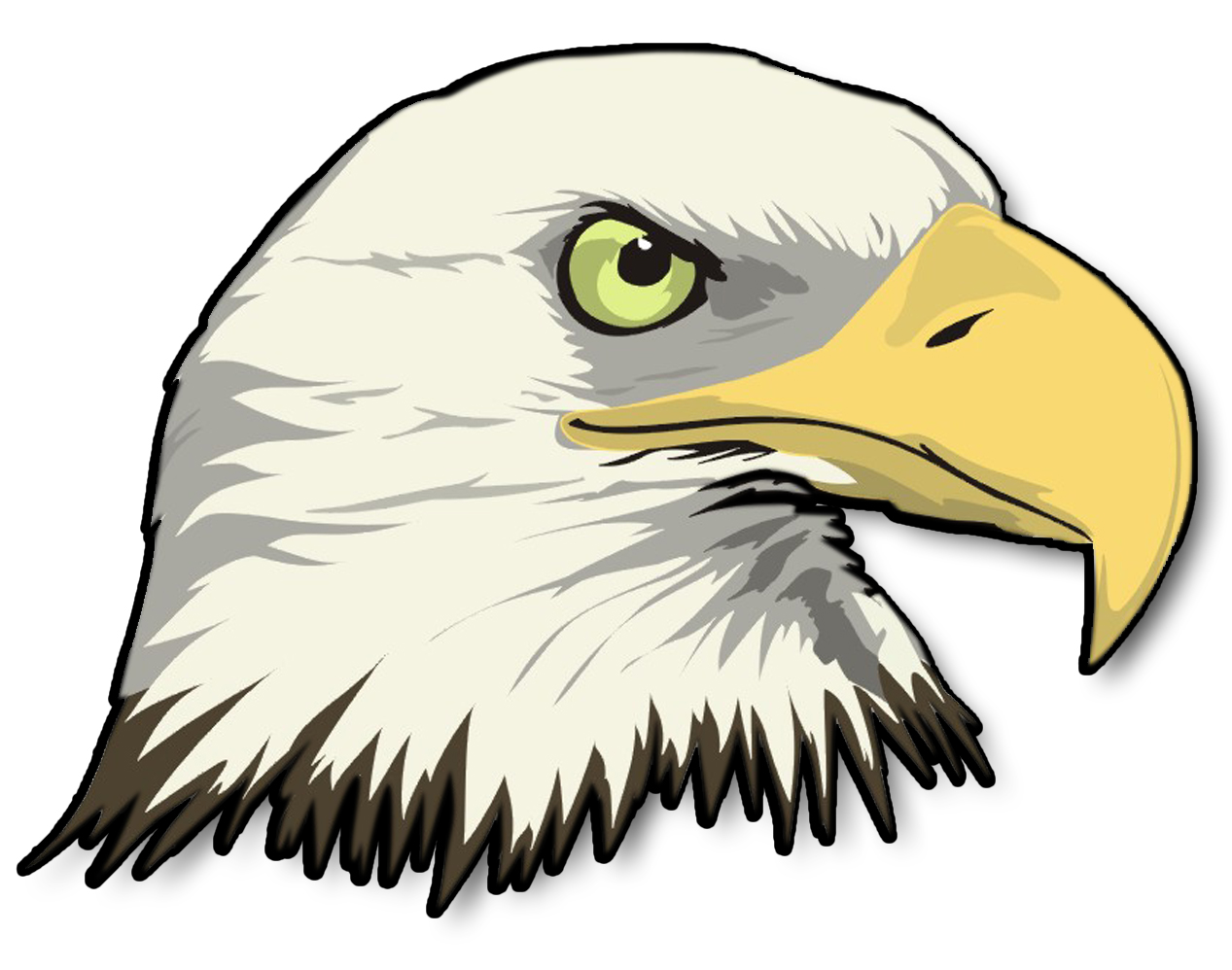 Bald eagle clipart logo png - ClipartFest banner free library
