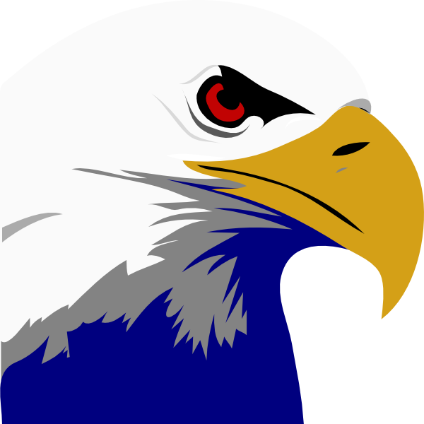 Bald eagle clipart logo png png library Bald Eagle Logo - ClipArt Best png library
