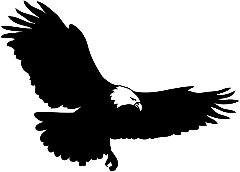 Bald eagle clipart logo png royalty free library Free Eagle Clip Art Pictures - Clipartix royalty free library