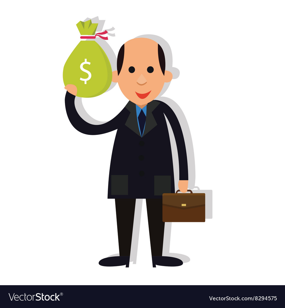 Bald forty five year old man clipart clip transparent Man businessman bald holding money corrupt clip transparent
