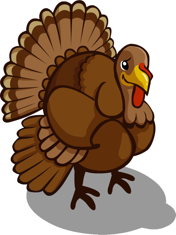 Turkey clipart side view vector library stock Turkey Bird PNG Transparent Images | PNG All vector library stock