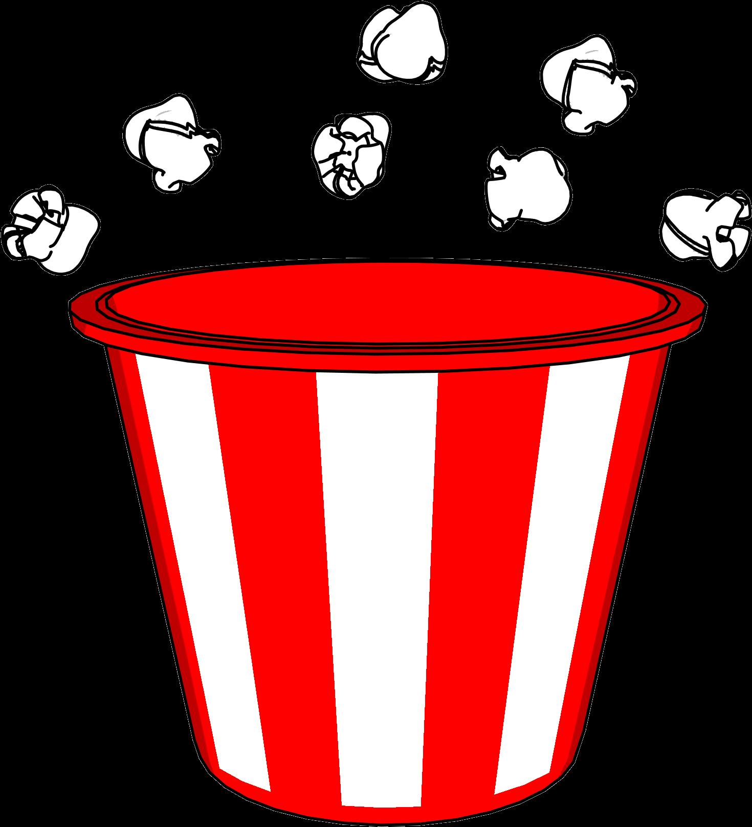 Balde clipart clip black and white library HD Popcorn Bucket And Pop Clipart Png - Balde De Pipoca Desenho ... clip black and white library