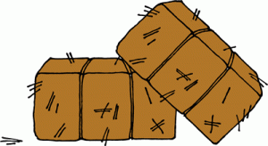 Clipart hay bale