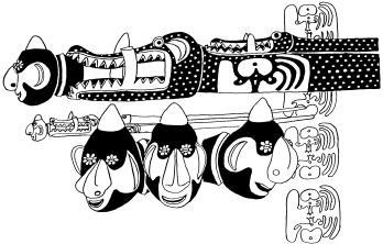 Mac Ruff Sketch Books of Papua New Guinea | Gulf clip royalty free