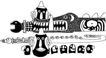 Balimo western province clipart graphic free library Mac Ruff Sketch Books of Papua New Guinea | Gulf graphic free library