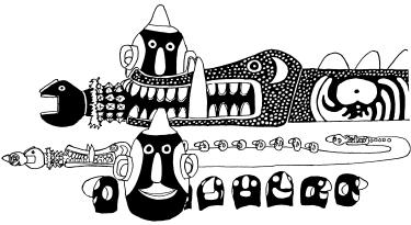 Mac Ruff Sketch Books of Papua New Guinea | Gulf graphic free library
