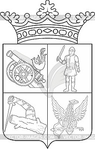 Balk clipart clip transparent Balk-Polev family coat of arms - royalty-free vector clipart clip transparent