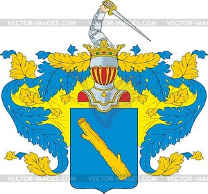 Balk clipart image royalty free stock Balk-Polev family coat of arms - royalty-free vector clipart image royalty free stock