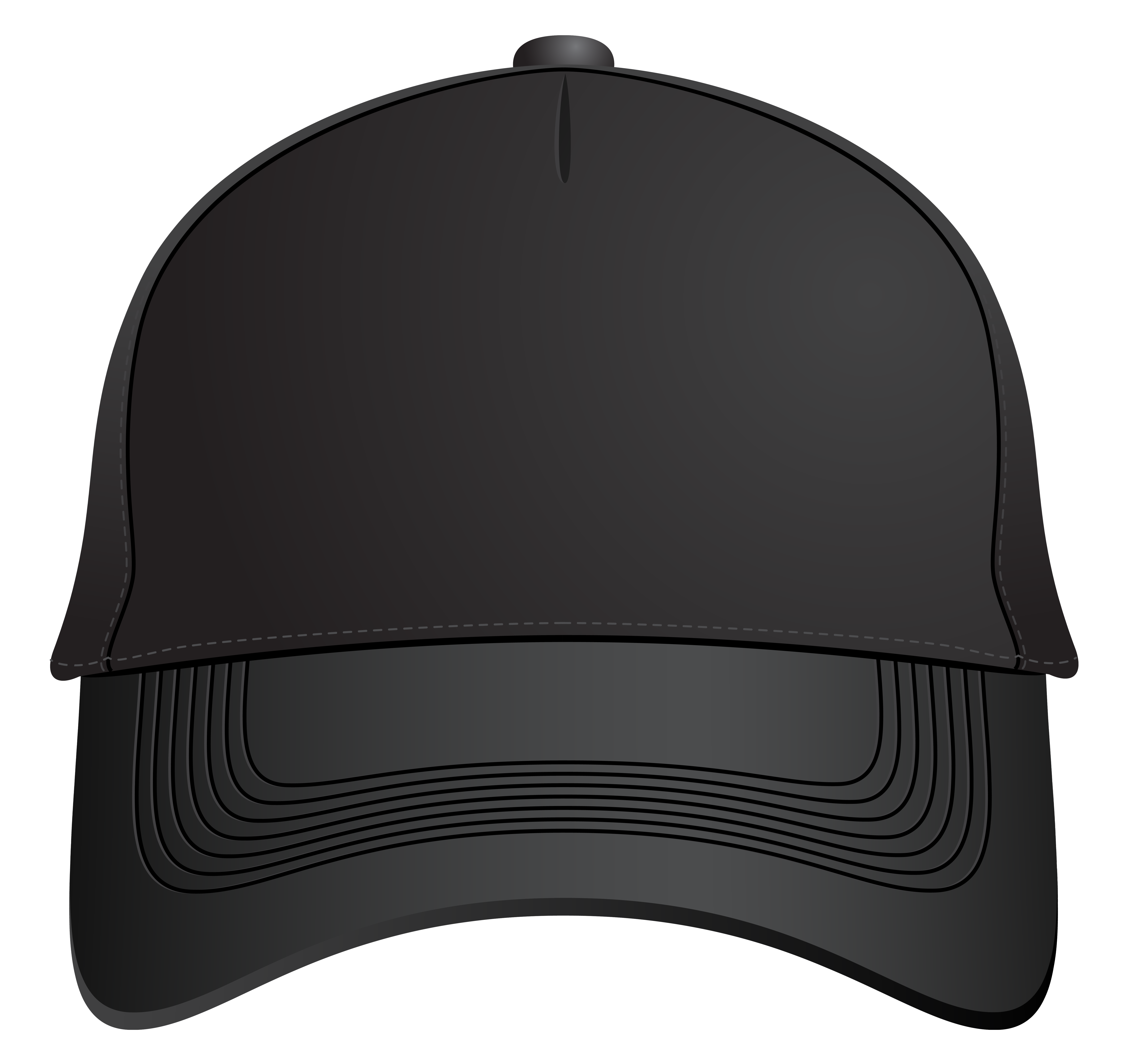 Black baseball cap clipart graphic library Black Baseball Cap PNG Clipart - Best WEB Clipart graphic library