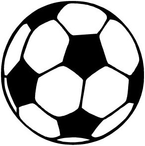 Ball clipart free clip black and white download Soccer Ball Clipart | Clipart Panda - Free Clipart Images clip black and white download