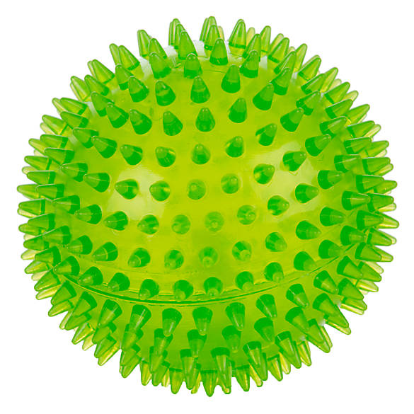 Ball dog clipart image transparent stock Grreat Choice™ Spike Ball Dog Toy - Squeaker image transparent stock