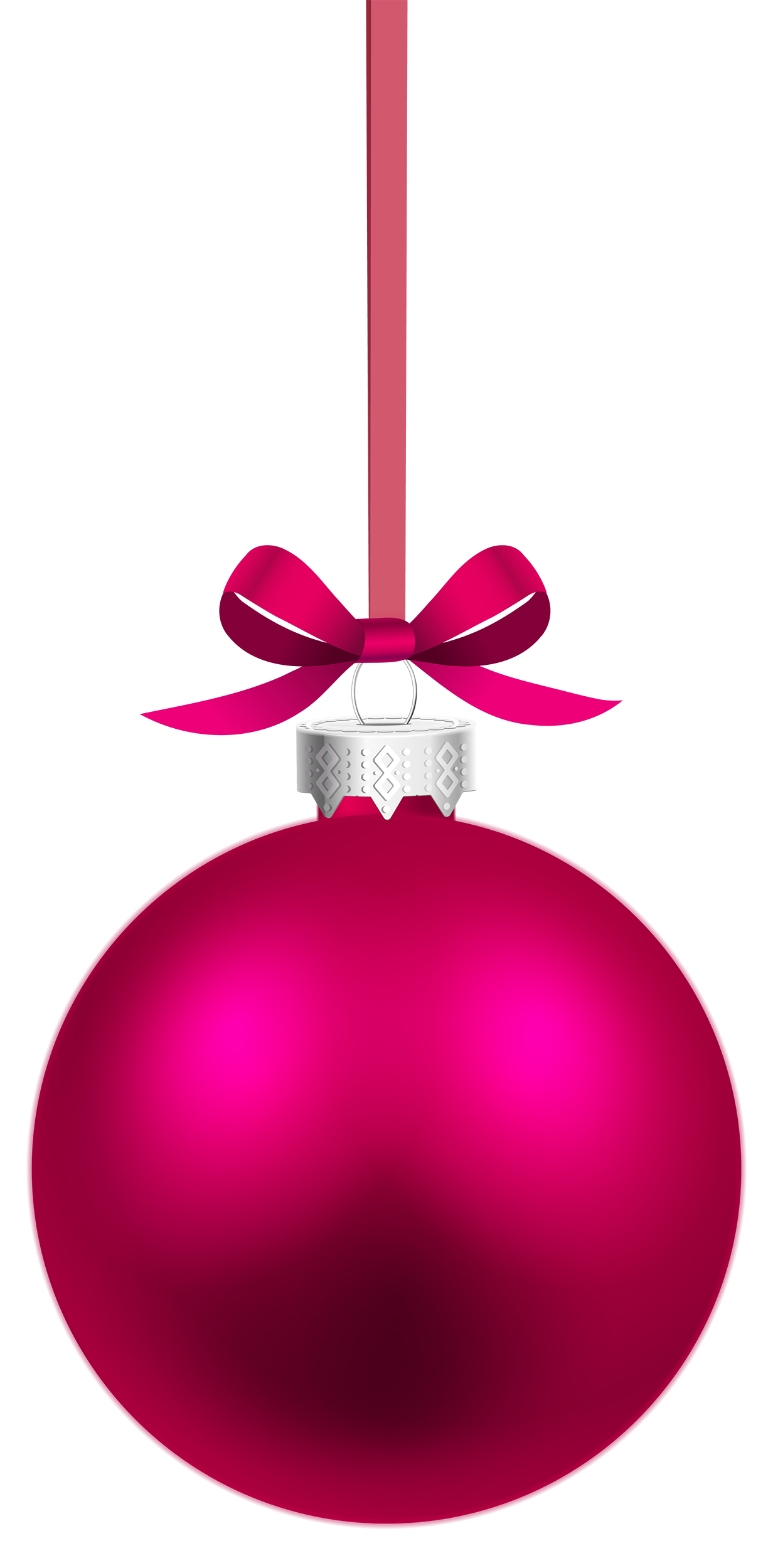 Hanging christmas ornament clipart jpg free stock Pink Hanging Christmas Ball PNG Clipart - Best WEB Clipart jpg free stock